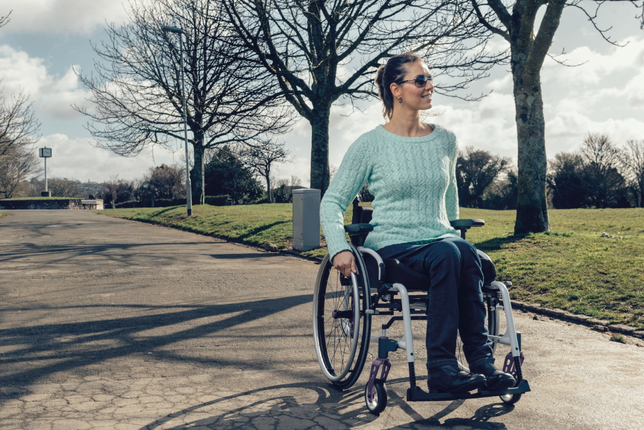electric wheelchair uses